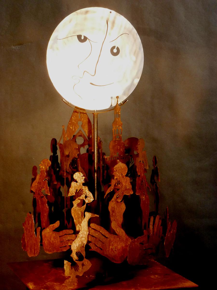 Mond über Soest