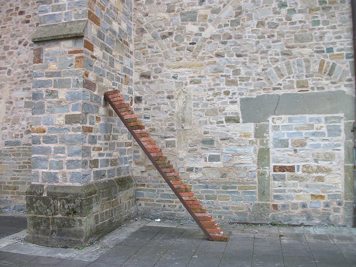 Und eine nicht unendliche Treppe